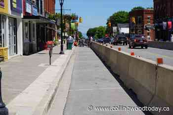 Thornbury eyes change of plans for parking barriers on main street - CollingwoodToday