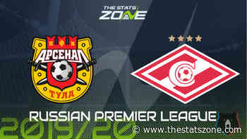 2019-20 Russian Premier League – Arsenal Tula vs Spartak Moscow Preview & Prediction - The Stats Zone