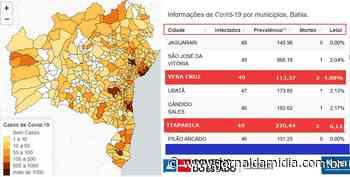 Ilha de Itaparica: mapa do coronavírus aponta que Vera Cruz e Itaparica seguem iguais em casos confirmados - Jornal da Mídia