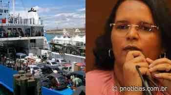 Itaparica: filas no ferry-boat e aumento na procura do serviço preocupam prefeita Marlylda Barbuda - PNotícias