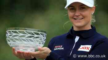 Charley Hull wins first Rose Ladies Series event at Brockenhurst Manor Golf Club