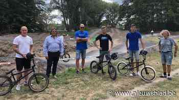 Ex-wereldkampioen motorcross Steve Ramon bouwt BMX-parcours