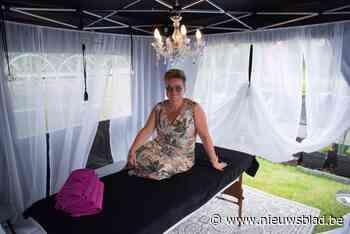 Massagetherapeut An moet creatief zijn met coronamaatregelen... - Het Nieuwsblad
