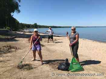 Beach Preservers stage Port Elgin beach clean up - Shoreline Beacon