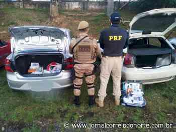 Polícia flagra carros com mercadoria ilegal em Canoinhas - Jornal Correio do Norte