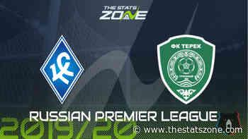 2019-20 Russian Premier League – Krylya Sovetov vs Akhmat Grozny Preview & Prediction - The Stats Zone