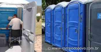 Nova lei obriga banheiro químico acessível em eventos em Uruguaiana - Jornal Correio do Povo