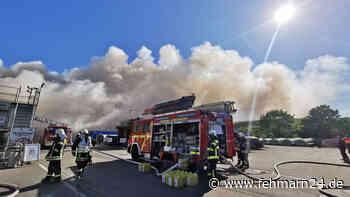 Großbrand: Fenster und Türen geschlossen halten - fehmarn24.de