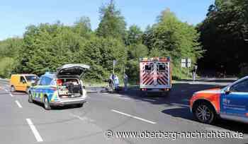 Motorradfahrer bei Zusammenstoß mit LKW schwer verletzt - Oberberg Nachrichten | Am Puls der Heimat.