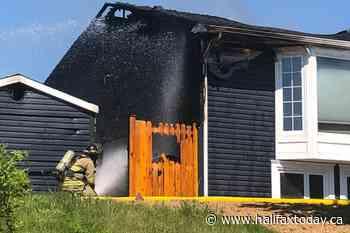 Crews battle fire in Cole Harbour (3 photos) - HalifaxToday.ca