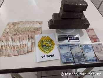 Salão de beleza era usado para esconder tabletes de maconha em Matinhos - Folha do Litoral News