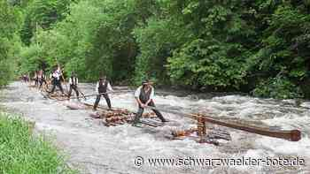 Schiltach: Flößer für weltweite Unesco-Liste nominiert - Schiltach - Schwarzwälder Bote