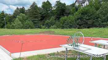 Schiltach: Finanzspritze für neues Kleinspielfeld - Schiltach - Schwarzwälder Bote
