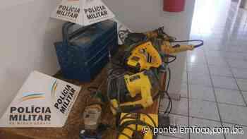 Homem flagrado após furtar residência em Monte Alegre é preso pela PMMG - Pontal Emfoco