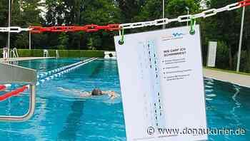 Wolnzach: 'Wir machen das Beste daraus' - Coronaregelungen und Regenwetter bescheren Wolnzacher Schwimmbad einen verhaltenen Saisonstart - donaukurier.de