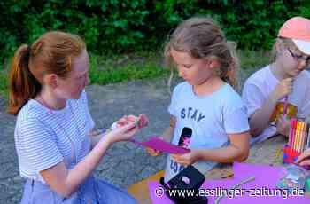 Trostpflasterrallye in Deizisau: Ein bisschen Kindercamp ist eben doch möglich - esslinger-zeitung.de