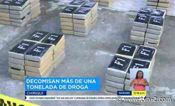 Senan decomisa más de mil paquetes de droga en Punta Burica. - TVN Panamá