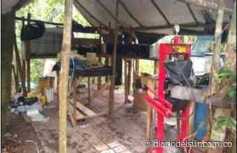 Ejército destruye cristalizadero de clorhidrato de cocaína del Eln en Yondó, Antioquia - Diario del Sur