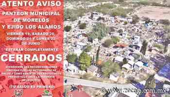 Cierran los panteones de Morelos y Allende [Coahuila] - 20/06/2020 - Periódico Zócalo