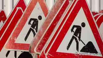 B10 Geislingen: Baustelle: Fahrbahn auf Geislinger Steige wird enger - SWP