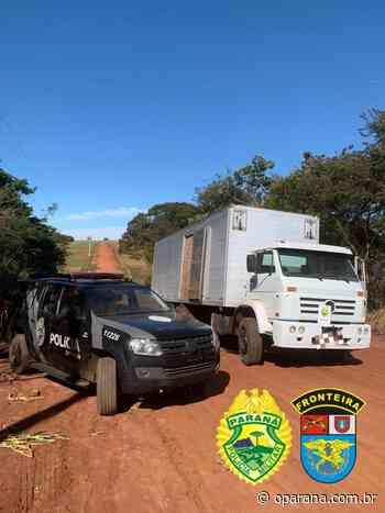 BPFRON na Operação HÓRUS apreende caminhão carregado de cigarro em Terra Roxa - O Paraná