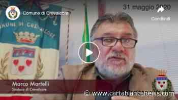 31 maggio, le parole del sindaco di Crevalcore - Carta Bianca News - CartaBianca news