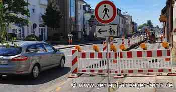 Ärger um Baustelle in Sankt Augustin: CDU kritisiert gefährlichen Engpass an der B 56 - General-Anzeiger