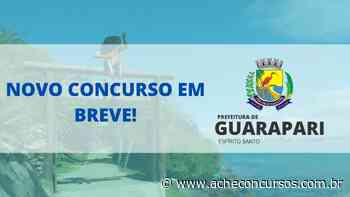 Concurso de Guarapari-ES 2020 sai no segundo semestre - Ache Concursos