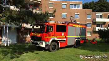 Einsatz in Rellingen: Feuer auf Balkon in DRK-Seniorenheim: Großalarm für drei Wehren   shz.de - shz.de