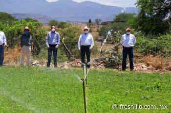 Con obras por 4.9 mdp, Gobierno de Tello apoya a ganaderos de Jalpa - FresnilloMX