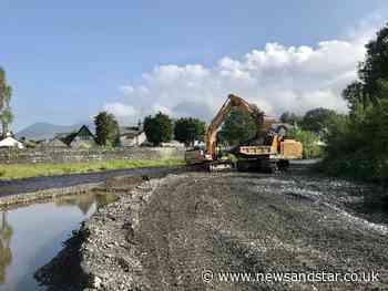 'Building a defence': River flood works get underway - News & Star