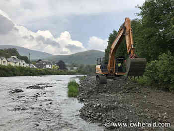 Work to remove gravel from Keswick's River Greta begins - The Cumberland & Westmorland Herald