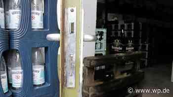Finnentrop: Täter stehlen Alkohol und Geld aus Getränkemarkt - WP News