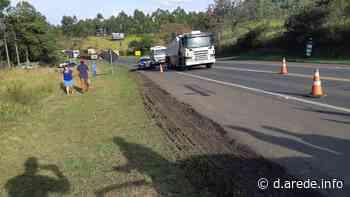 Idosa morre após ser atropelada na BR-376 em Ortigueira - ARede