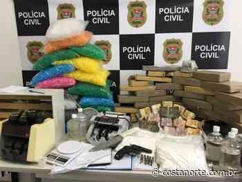 Dise de Jundiaí descobre armazém de drogas em Francisco Morato - Jornal Costa Norte