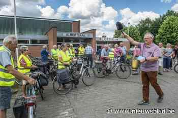 Okra start fietsseizoen met zegening - Het Nieuwsblad