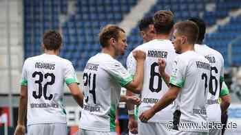 3:1 in Paderborn: Gladbach bringt sich in Champions-League-Position