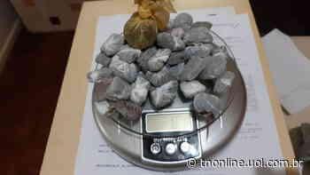 PM intercepta arremesso de drogas e celulares à Cadeia de Faxinal - TNOnline - TNOnline
