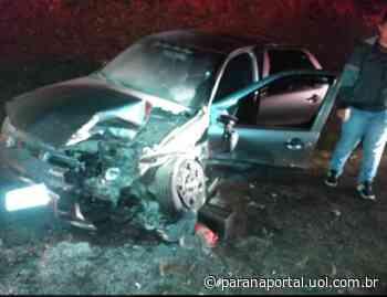 Acidente em Faxinal: duas pessoas morrem e cinco ficam feridas em colisão frontal - Paraná Portal