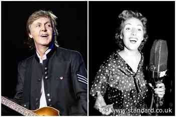 'Her voice will sing in my heart forever': Sir Paul McCartney pays tribute to 'warm, fun-loving' Vera Lynn - Evening Standard