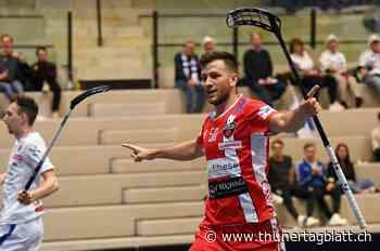 Floorball verliert Goalgetter – Bolliger wechselt von Köniz nach Finnland - BZ Thuner Tagblatt