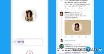 Comment publier et écouter des messages vocaux sur Twitter - Business Insider