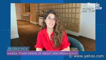 Marisa Tomei Reveals She Would 'Love to Sing and Dance in a Movie' - Yahoo! Voices