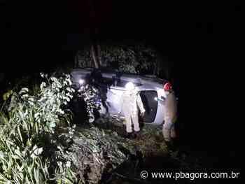 Acidente de carro deixa cinco pessoas feridas na saída de Guarabira - PBAGORA - A Paraíba o tempo todo