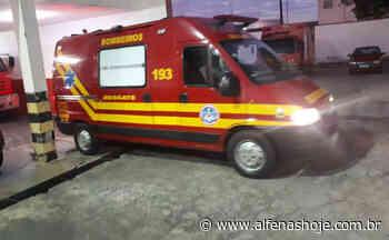 Homem esfaqueado nas costas é socorrido pelos bombeiros - Alfenas Hoje