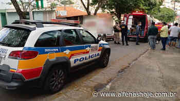 Acidente é registrado na avenida Machado de Assis - Alfenas Hoje