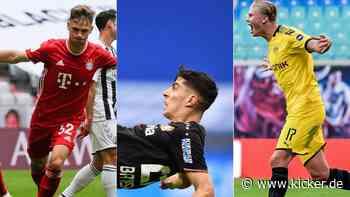 Bayern bleibt makellos, Bayer rutscht ab: Die Bundesliga-Tabelle seit dem Re-Start