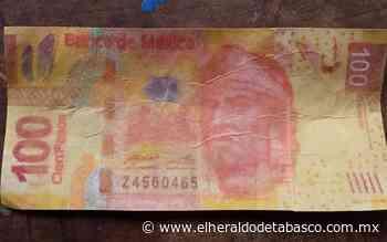 Alertan por circulación de billetes falsos en Jalpa de Méndez - El Heraldo de Tabasco