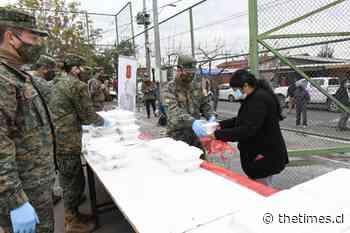 """Ejército llega a La Pintana con """"Rancho Solidario"""" - THE TIMES CHILE"""