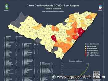 Satuba, Santa Luzia e Jequiá da Praia têm maior taxa de casos de Covid-19 por habitantes - Aqui Acontece